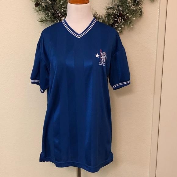 san francisco b5e6b 4ecef Retro style Chelsea FC jersey